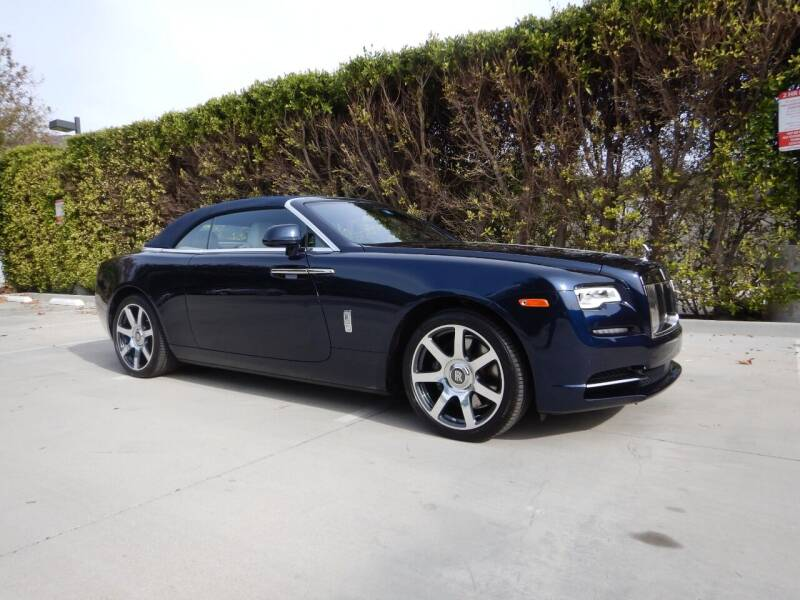 2017 Rolls-Royce Dawn for sale at California Cadillac & Collectibles in Los Angeles CA