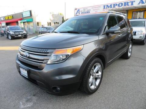 2015 Ford Explorer for sale at Import Auto World in Hayward CA