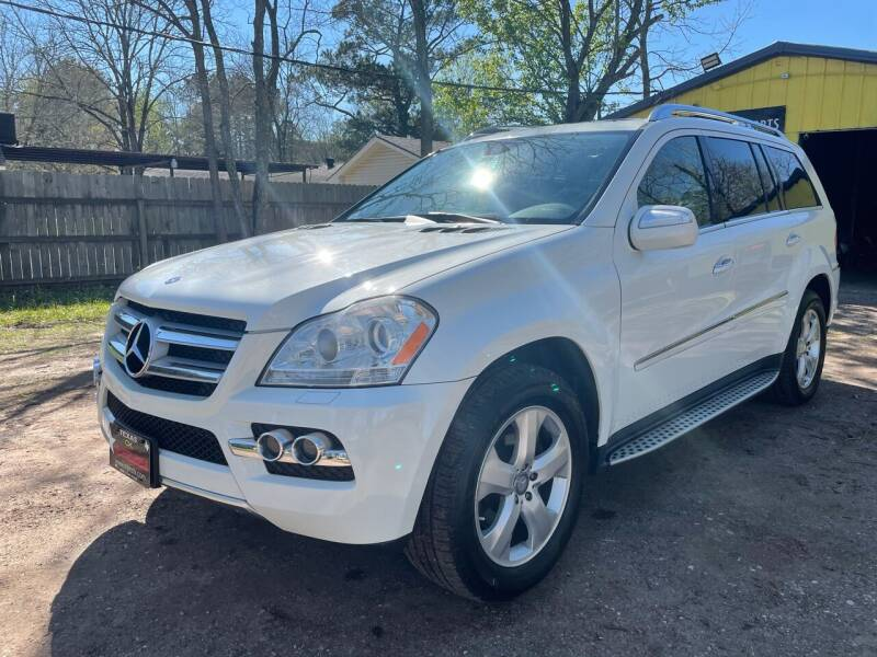 2010 Mercedes-Benz GL-Class for sale at M & J Motor Sports in New Caney TX