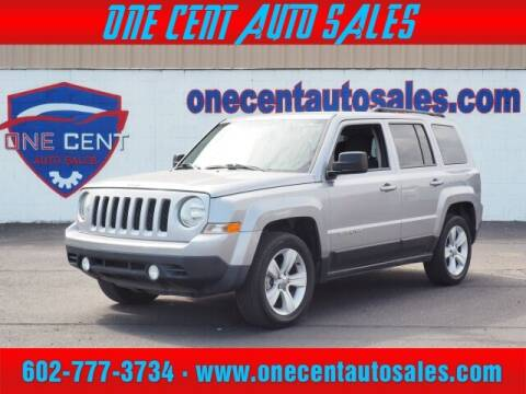 2016 Jeep Patriot for sale at One Cent Auto Sales in Glendale AZ
