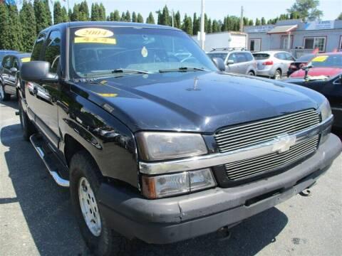 2004 Chevrolet Silverado 1500 for sale at GMA Of Everett in Everett WA