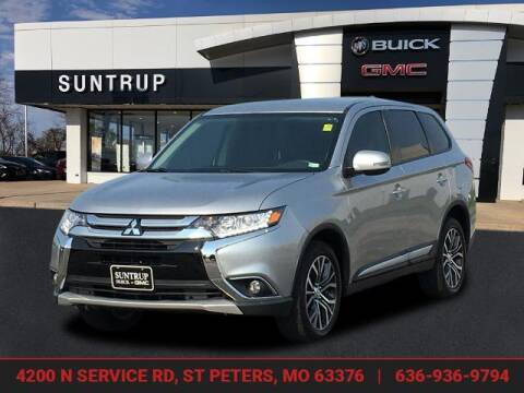 2018 Mitsubishi Outlander for sale at SUNTRUP BUICK GMC in Saint Peters MO