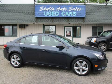 2014 Chevrolet Cruze for sale at SHULTS AUTO SALES INC. in Crystal Lake IL