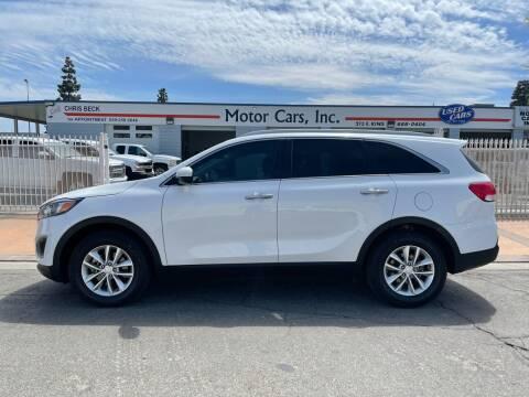 2016 Kia Sorento for sale at MOTOR CARS INC in Tulare CA