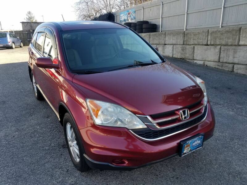 2010 Honda CR-V for sale at Fortier's Auto Sales & Svc in Fall River MA