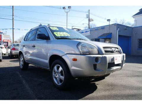 2008 Hyundai Tucson for sale at M & R Auto Sales INC. in North Plainfield NJ