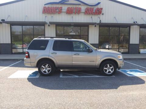2008 Ford Explorer for sale at DOUG'S AUTO SALES INC in Pleasant View TN
