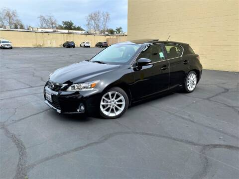 2012 Lexus CT 200h for sale at TOP QUALITY AUTO in Rancho Cordova CA