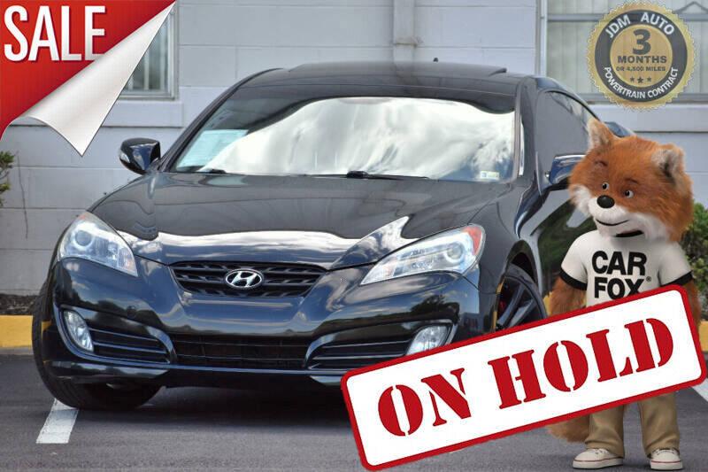 2010 Hyundai Genesis Coupe 3.8L Track