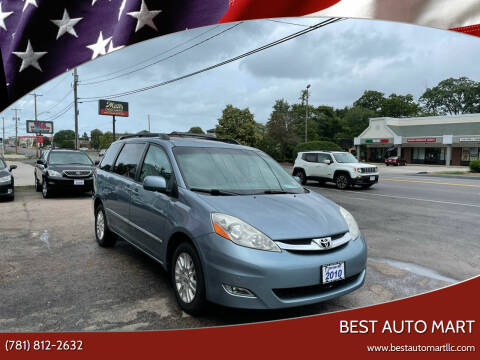 2010 Toyota Sienna for sale at Best Auto Mart in Weymouth MA