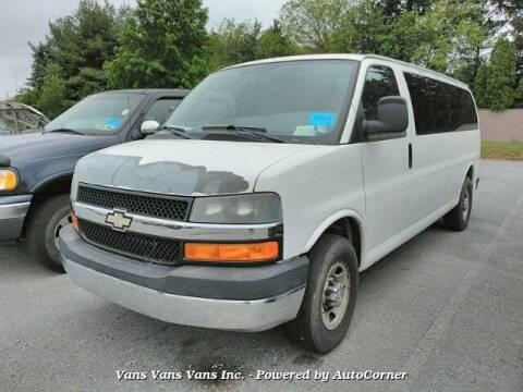 2010 Chevrolet Express Passenger for sale at Vans Vans Vans INC in Blauvelt NY