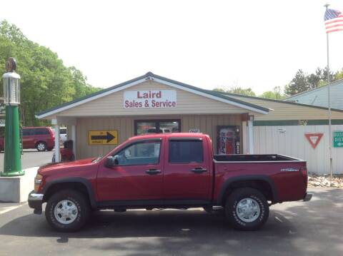 2006 Chevrolet Colorado for sale at LAIRD SALES AND SERVICE in Muskegon MI