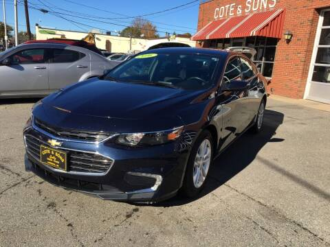 2016 Chevrolet Malibu for sale at Cote & Sons Automotive Ctr in Lawrence MA