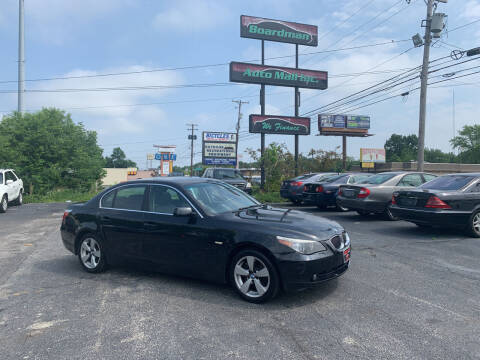 2007 BMW 5 Series for sale at Boardman Auto Mall in Boardman OH