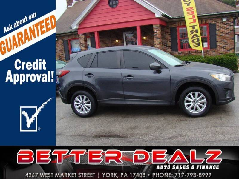 2016 Mazda CX-5 for sale at Better Dealz Auto Sales & Finance in York PA