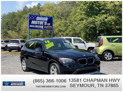2015 BMW X1 for sale at Union Motors in Seymour TN