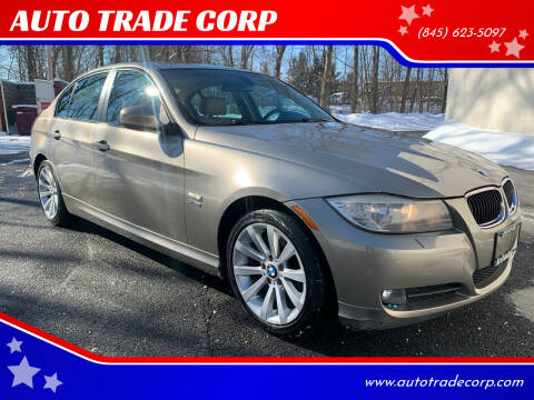 2011 BMW 3 Series for sale at AUTO TRADE CORP in Nanuet NY