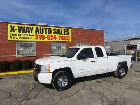 2010 Chevrolet Silverado 1500 for sale at X Way Auto Sales Inc in Gary IN
