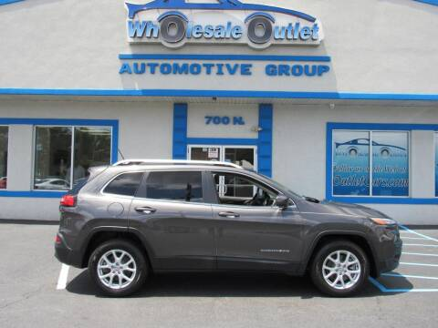2015 Jeep Cherokee for sale at The Wholesale Outlet in Blackwood NJ