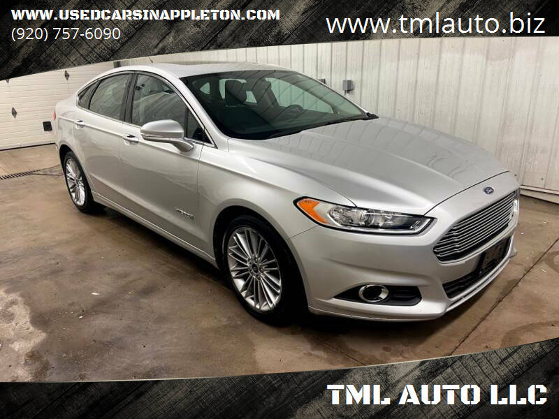 2013 Ford Fusion Hybrid for sale at TML AUTO LLC in Appleton WI