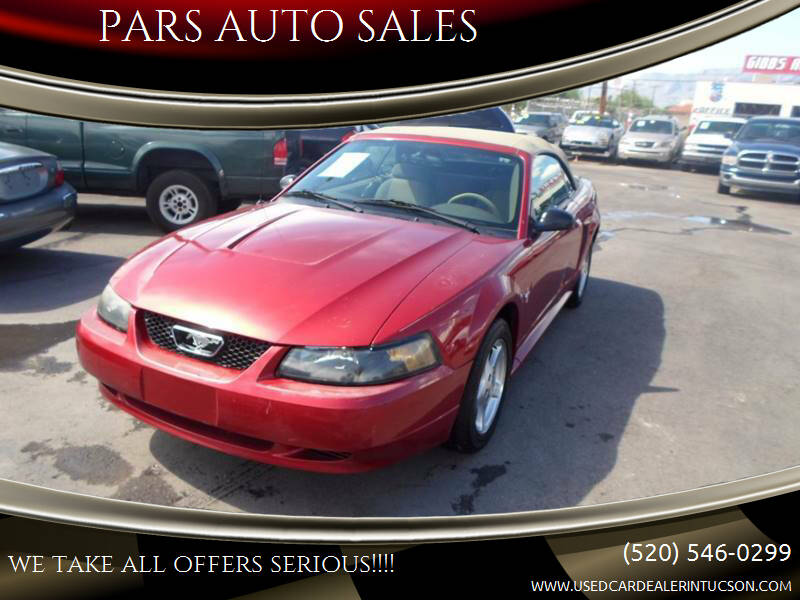 2003 Ford Mustang for sale at PARS AUTO SALES in Tucson AZ