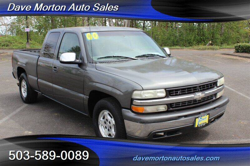 2000 Chevrolet Silverado 1500 for sale at Dave Morton Auto Sales in Salem OR