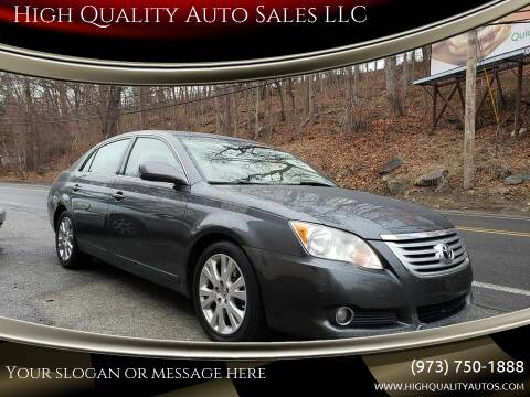 2008 Toyota Avalon for sale at High Quality Auto Sales LLC in Bloomingdale NJ