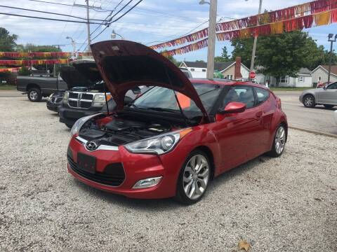 2013 Hyundai Veloster for sale at Antique Motors in Plymouth IN