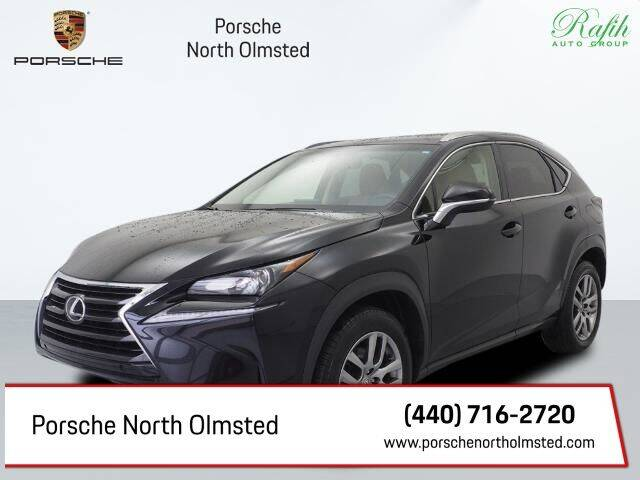 2016 Lexus NX 200t for sale at Porsche North Olmsted in North Olmsted OH