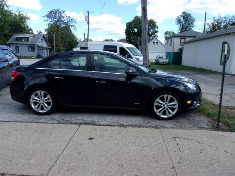2014 Chevrolet Cruze for sale at Car Credit Auto Sales in Terre Haute IN
