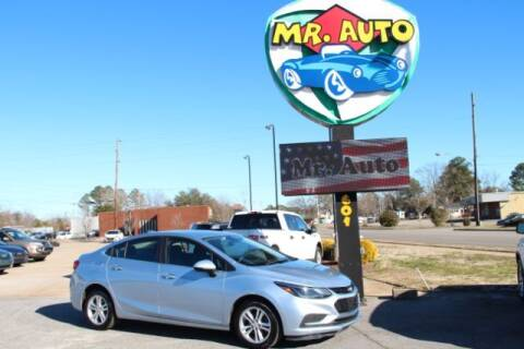 2017 Chevrolet Cruze for sale at MR AUTO in Elizabeth City NC