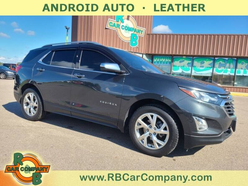 2018 Chevrolet Equinox for sale at R & B Car Co in Warsaw IN