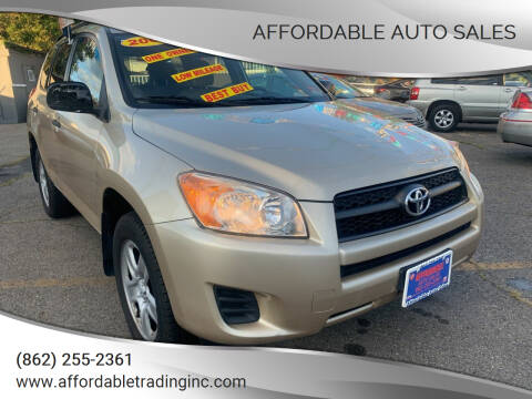 2009 Toyota RAV4 for sale at Affordable Auto Sales in Irvington NJ