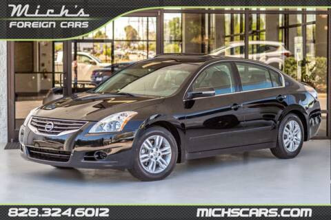 2012 Nissan Altima for sale at Mich's Foreign Cars in Hickory NC