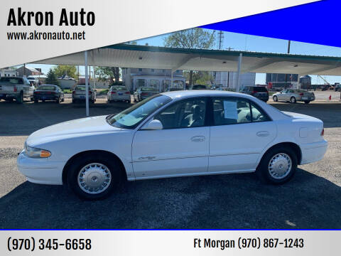 1998 Buick Century for sale at Akron Auto in Akron CO