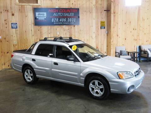 2005 Subaru Baja for sale at Boone NC Jeeps-High Country Auto Sales in Boone NC