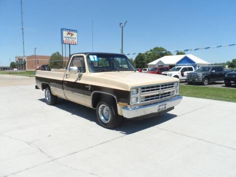 1987 Chevrolet R/V 10 Series for sale at America Auto Inc in South Sioux City NE
