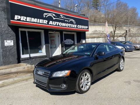 2011 Audi A5 for sale at Premier Automotive Group in Pittsburgh PA