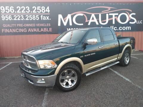 2011 RAM Ram Pickup 1500 for sale at MC Autos LLC in Pharr TX