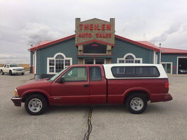 1997 Chevrolet S-10 for sale at THEILEN AUTO SALES in Clear Lake IA
