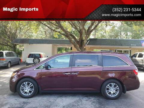 2013 Honda Odyssey for sale at Magic Imports in Melrose FL