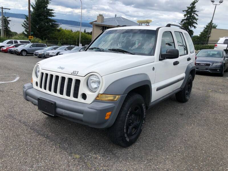 2005 Jeep Liberty for sale at KARMA AUTO SALES in Federal Way WA