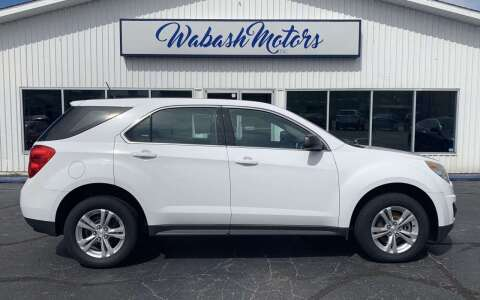 2014 Chevrolet Equinox for sale at Wabash Motors in Terre Haute IN