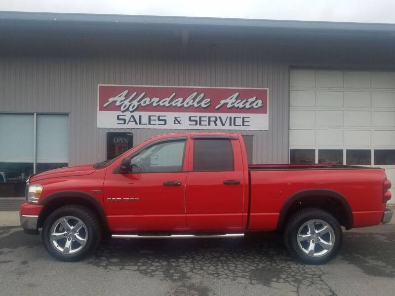 2007 Dodge Ram Pickup 1500 for sale at Affordable Auto Sales & Service in Berkeley Springs WV
