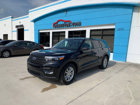 2021 Ford Explorer for sale at ETS Autos Inc in Sanford FL