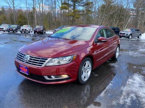2016 Volkswagen CC for sale at North Berwick Auto Center in Berwick ME