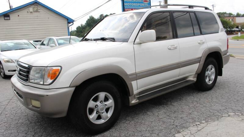 2000 Toyota Land Cruiser for sale at NORCROSS MOTORSPORTS in Norcross GA