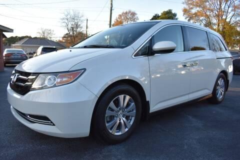 2014 Honda Odyssey for sale at Apex Car & Truck Sales in Apex NC