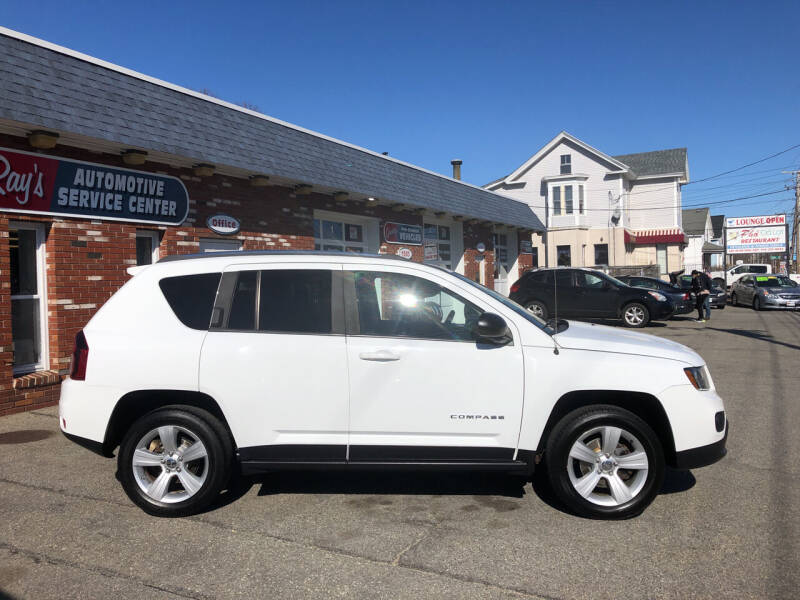 2014 Jeep Compass for sale at RAYS AUTOMOTIVE SERVICE CENTER INC in Lowell MA