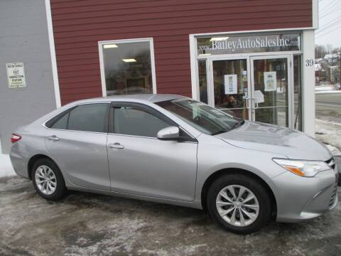 2016 Toyota Camry for sale at Percy Bailey Auto Sales Inc in Gardiner ME